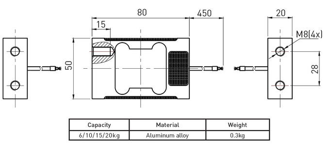 Electronic Scale Single Point Load Cell