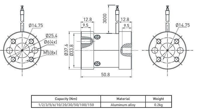Strain Gauge Force Sensor Load Cell Transducer Column Load