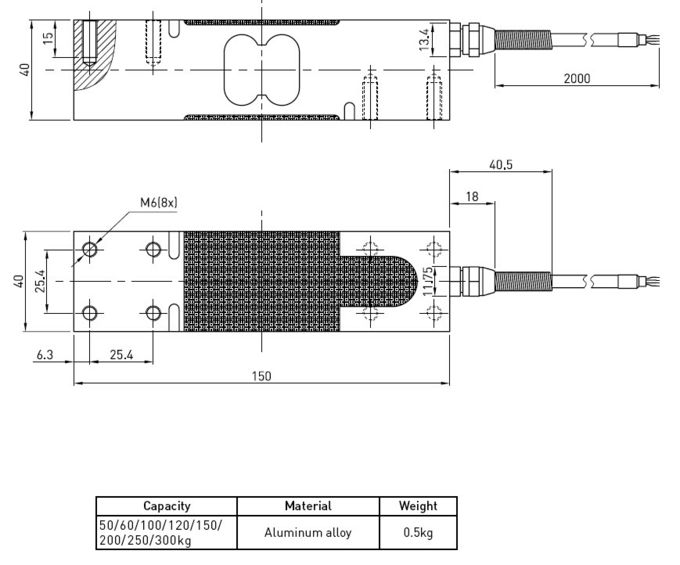 force load cell wiring diagram