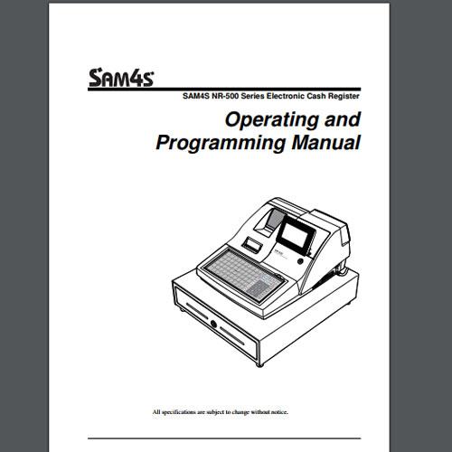 Sam4s NR-5XX Technical Manual, TecStore UK & Worldwide
