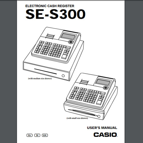 Casio SE-S300 Manuals, TecStore UK