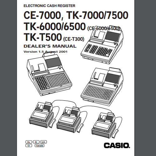 Casio TK-7000 Dealer Manual, TecStore UK