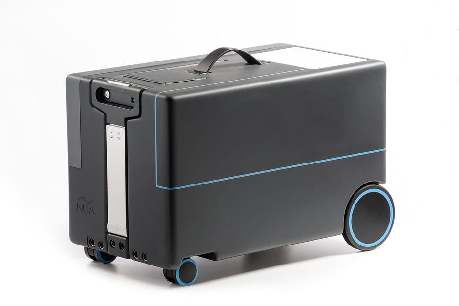Robotic Suitcase (Foto: nuarobotics)