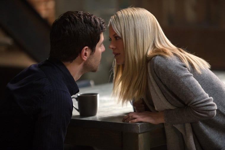 Nick e Adalind quase se beijando
