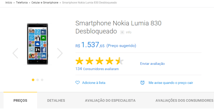 lumia830semestoque rudy huyn destaca: windows phone está morto!