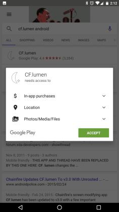 Atualização do Google App permite instalar apps através dosresultados de pesquisas  Google App: Atualização permite instalar apps através dos resultados de pesquisas nexus2cee 221