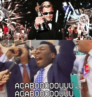 Leonardo DiCaprio leonardo dicaprio leva estatueta e memes, veja Leonardo DiCaprio leva estatueta e memes, veja a7873618072fbe75ac609bb7b37fa833
