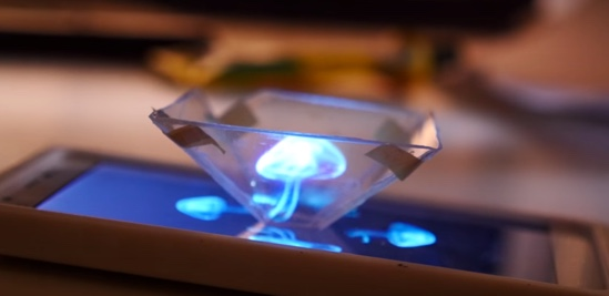 Hologramas aprenda a criar hologramas com seu smartphone Aprenda a criar Hologramas com seu Smartphone holograma