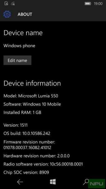 Windows 10 Mobile build 10586.242 está chegando ao windows 10 mobile oficial