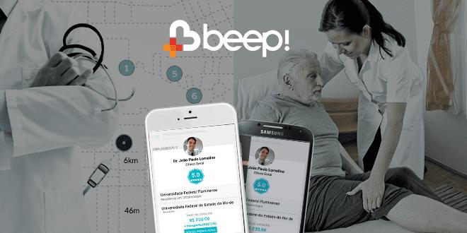 Beep Saúde beep saúde é o 'uber' para médicos e pacientes