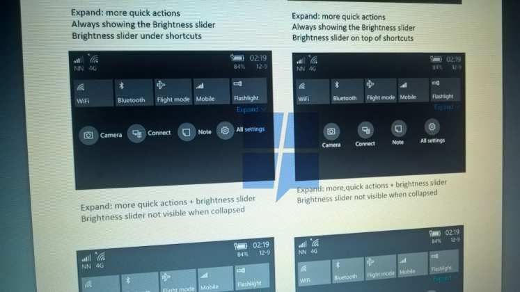 Windows 10 Mobile [rumor] windows 10 mobile terá uma nova central de ações [Rumor] Windows 10 Mobile terá uma nova central de ações notification