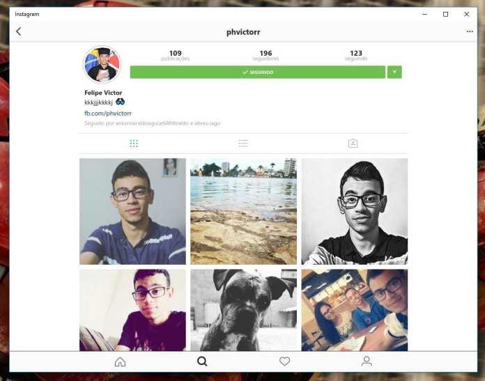 Instagram instagram chega oficialmente para computadores e tablets com windows 10