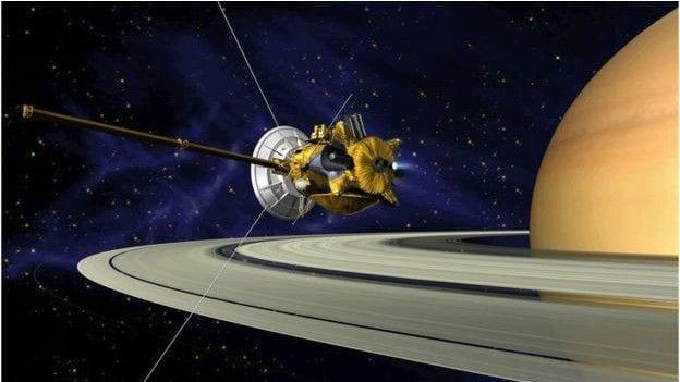 Cassini sonda espacial 'cassini', da nasa se prepara para fim 'épico' em saturno