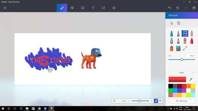 Paint 3D vazou! baixe agora o novo paint 3d em seu windows 10 sem o insider Vazou! Baixe agora o novo Paint 3D em seu Windows 10 sem o Insider paint3dprint