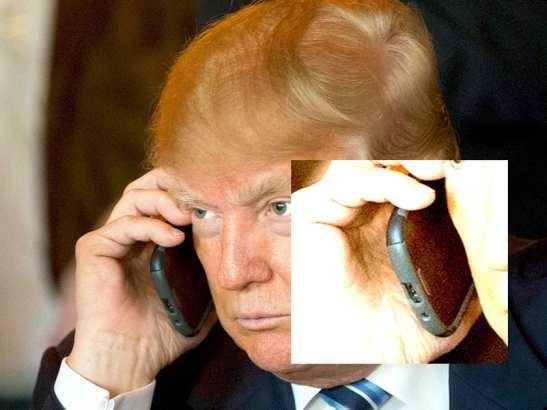 Trump donald trump usa celular android da samsung, lançado em 2012 Donald Trump usa celular Android da Samsung, lançado em 2012 trump phone 6