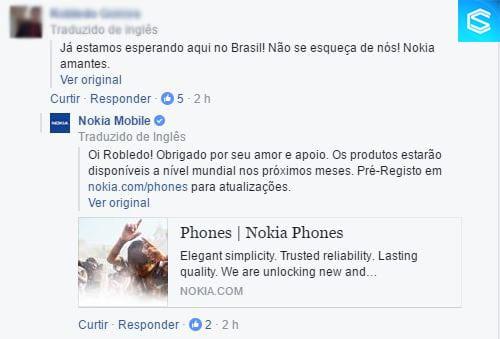 Nokia 6 nokia 6 vai ser vendido no brasil, afirma nokia Nokia 6 vai ser vendido no Brasil, afirma Nokia BrazilNokia6