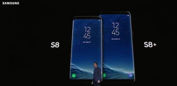 Galaxy S8 '4k': galaxy s8 e s8 plus chegam ao brasil por preço salgado '4K': Galaxy S8 e S8 Plus chegam ao Brasil por preço salgado s8 e s8 plus da samsung 1490800913586 615x300
