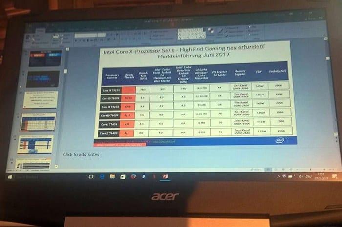 Intel Core i9 processador 'intel core i9' pode ser lançado em breve com 12 núcleos