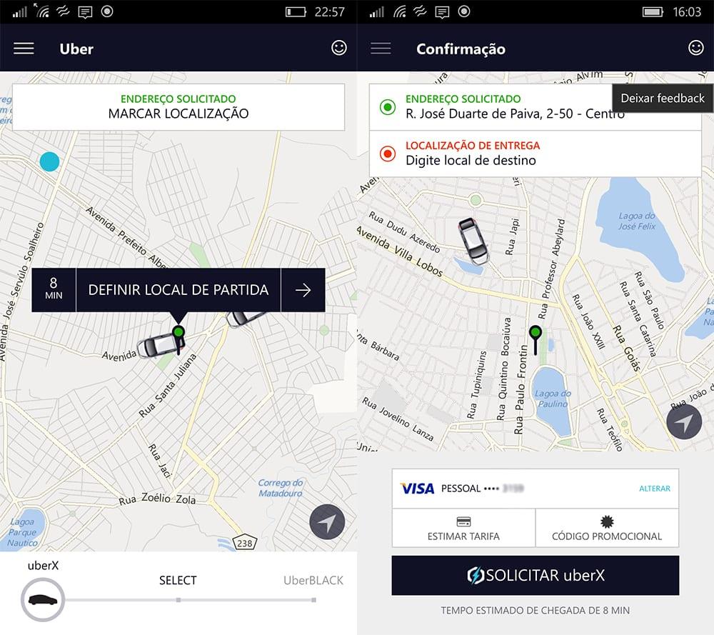 Sete Lagoas uber começa a operar em sete lagoas