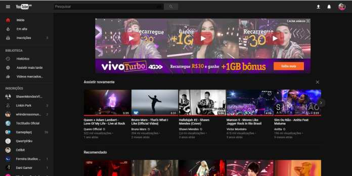 Youtube Dark youtube dark: como deixar o youtube com tema escuro Youtube Dark: Como deixar o Youtube com tema escuro youtube