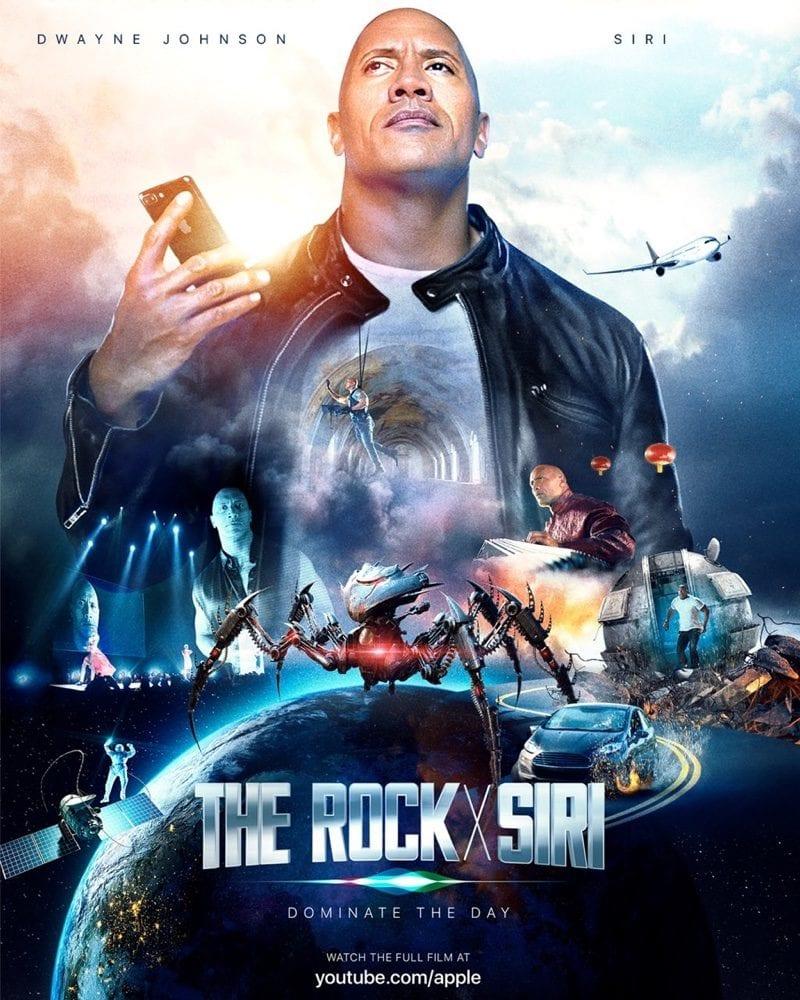 The Rock x Siri