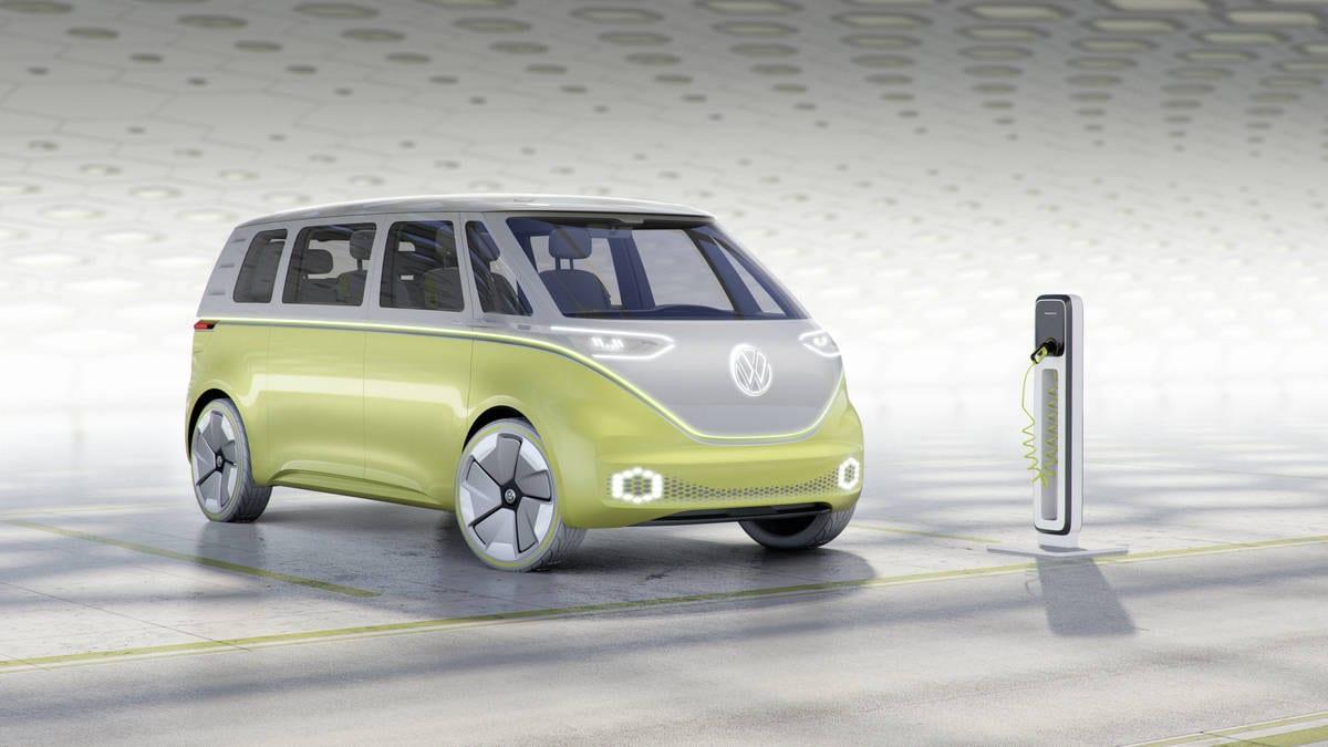 volkswagen lançará a clássica kombi em uma versão elétrica em 2022