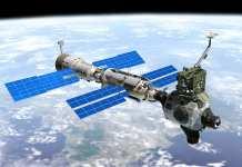 estação espacial chinesa