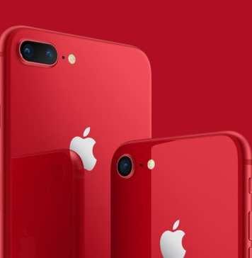 iPhone 8 Vermelho obrigado por ser um tecstudio lover