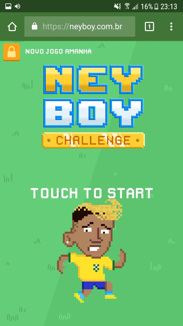 NeyBoy Challenge neyboy challenge NeyBoy Challenge: Jogo tira sarro de Neymar e faz sucesso na internet Screenshot 20180712 231351