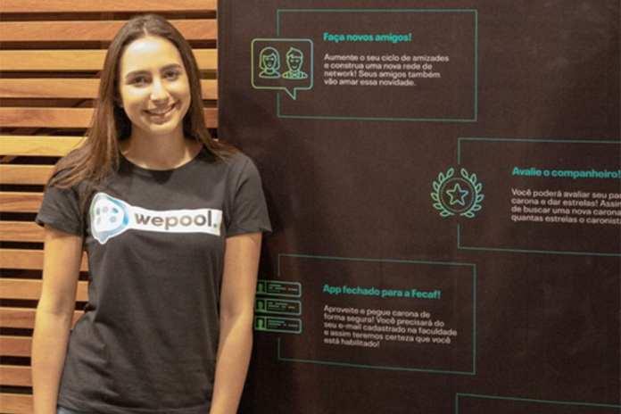 WePool wepool é o mais novo aplicativo de carona para universitários WePool é o mais novo aplicativo de carona para Universitários we pool  beatriz oliveira