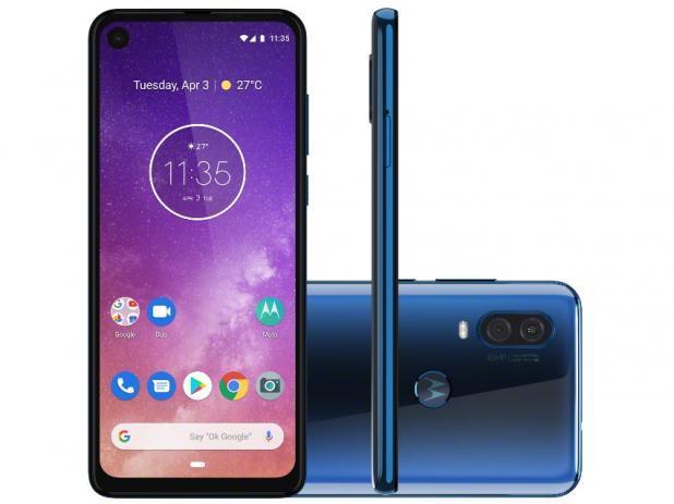 Motorola One Vision  Motorola One Vision: 48 MP, tela diferente e preço camarada ef650e435778073bc56ba0800e1906e5