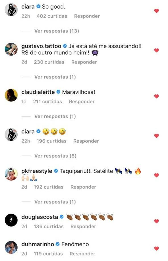 """Ludmilla recebeu disco de platina para """"Din Din Din"""" e """"Cheguei"""" 2"""