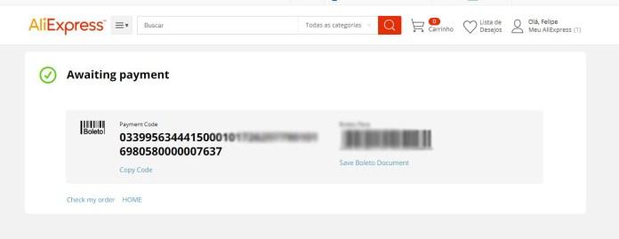 Aliexpress  AliExpress: Como parcelar suas compras via boleto e cartão 1 1