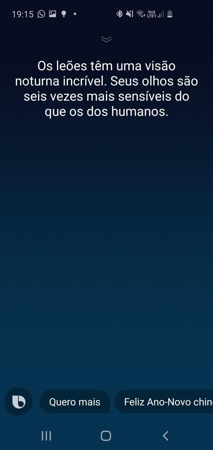 Bixby em português: Samsung lança versão beta da assistente no Brasil. Saiba como ativar 6