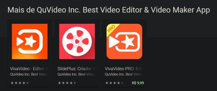 VivaVideo  Aplicativo 'VivaVideo' contém vírus de acesso remoto que pode ter contaminado 100 milhões de usuários, afirma empresa de segurança 750xNxplaystore vivavideo