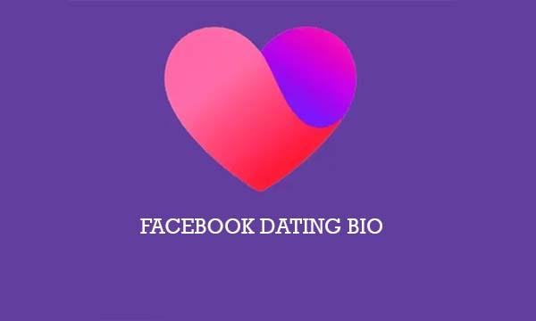 Facebook Dating Bio