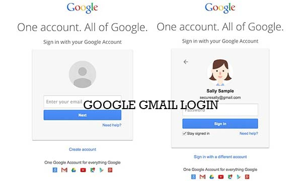 Google Gmail Login