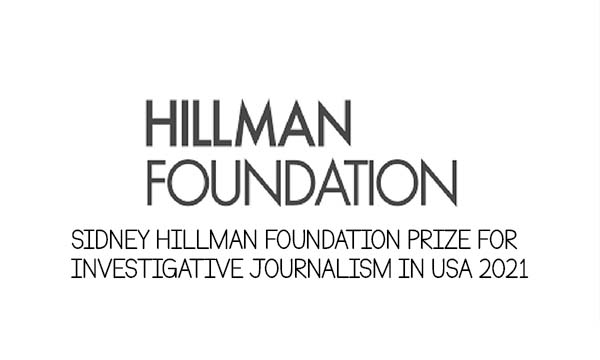 Sidney Hillman Foundation Prize for Investigative Journalism in USA 2021