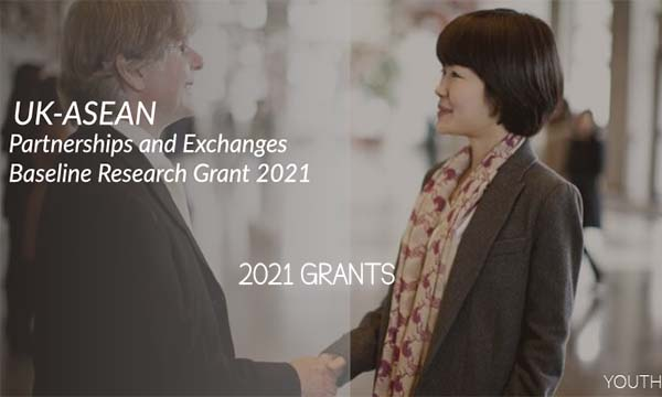 UK-ASEAN Partnerships and Exchanges Baseline Research Grant