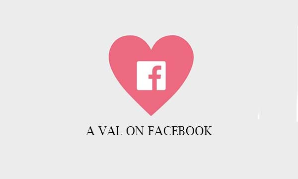 A Val on Facebook