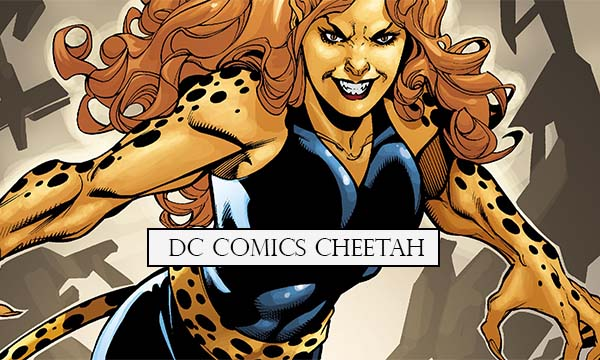 Dc Comics Cheetah