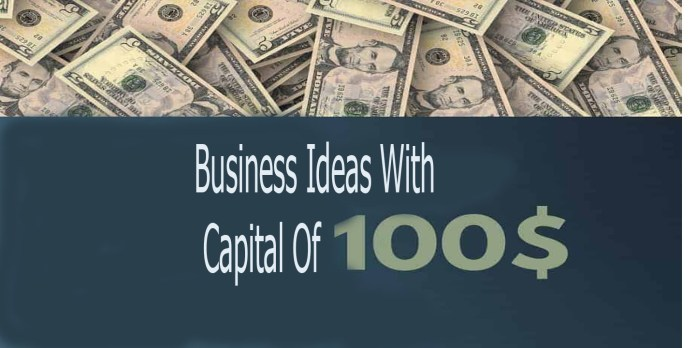 Business Ideas With Capital Of 100 USD