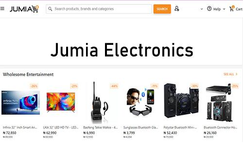 Jumia Electronics - Jumia Online Shopping   Jumia Account