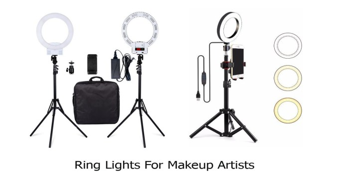 Ring Lights For Makeup Artists
