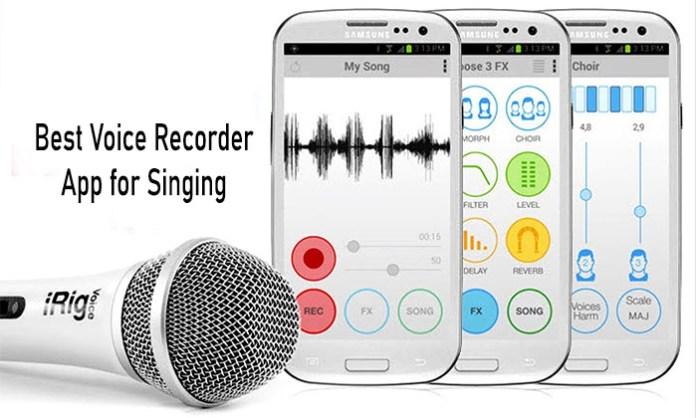 Best Voice Recorder App for Singing - Best Voice Recorder App for Singing and Voice for Android and iPhone