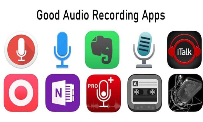 Good Audio Recording Apps- Top Best Audi Recording App to Download