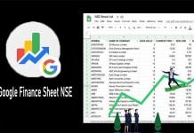 Google Finance Sheet NSE - Use Google Sheets' Google Finance Function to Display Data