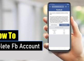 How to Delete Fb Account - Delete Facebook Account Now | Facebook Account Delete
