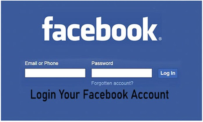 Login Your Facebook Account - Facebook Account | Facebook Account Log In Page