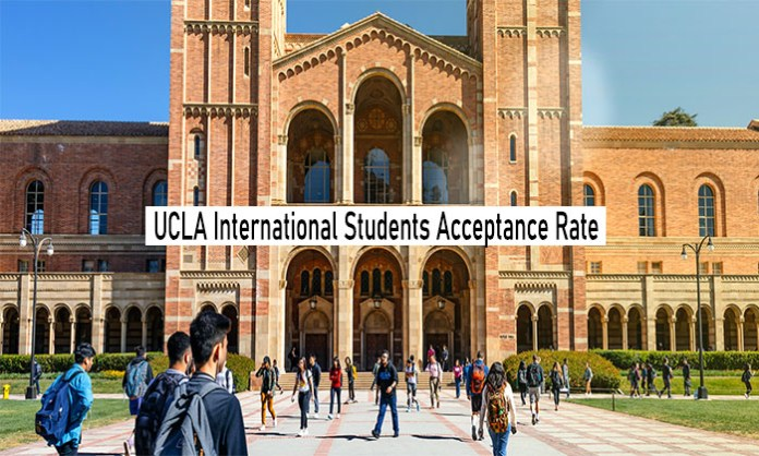 UCLA International Students Acceptance Rate: UCLA International and General Acceptance Rate
